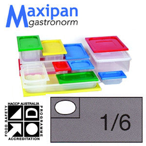 Gastronorm Pan-Polyprop Gastronorm 1/6 X150mm