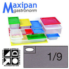 Gastronorm Pan-Polyprop Gastronorm 1/9 X100mm