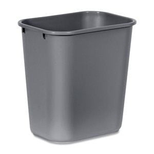 Rubbermaid 2955 Gray Wastebasket Small 12.9L