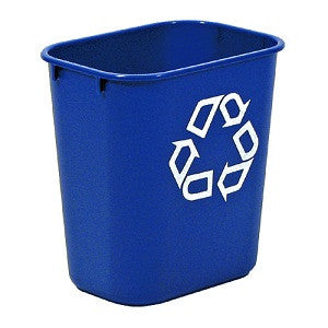 Rubbermaid 2956-73 Recycling Wastebasket Medium 26.6L