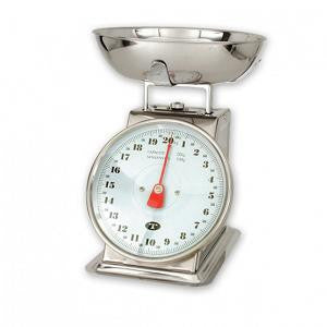 Kitchen Scale Stainless Steel -20Kg X 100G w/Bowl