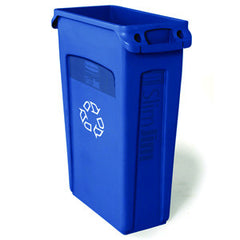 Rubbermaid 3540-07 Blue Slim Jim 87Lt
