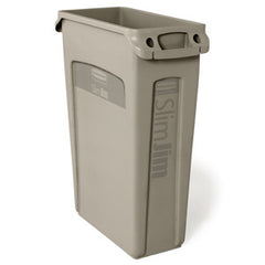 Rubbermaid 3540-60 Beig Slim Jim 87Lt