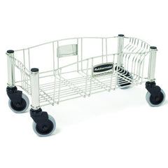 Rubbermaid 3553-00 Slim Jim Stainless Steel Dolly