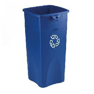 Rubbermaid 3569-73 Untouchable Square Recycling Container 87.1L