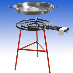 Paella Burner 3 Ring Kit -Includes Regulator.