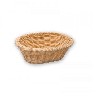 Bread Basket-Oval Polyprop240X170X80mm