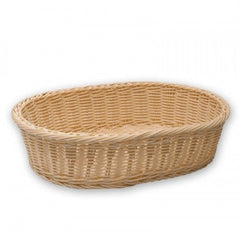 Bread Basket-Oval Polyprop380X270X90mm