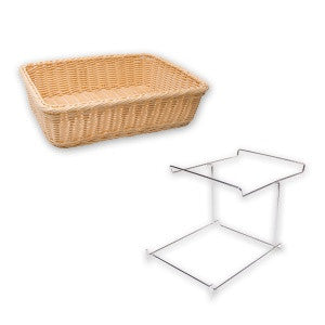 Bread Basket-Rect. Polyprop360X270X90mm