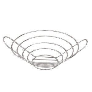 Basket-Round Low  245mm Chrome