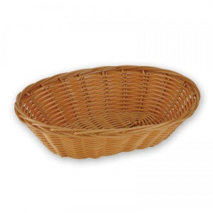 "Bread Basket-240mm(  9"")Ovalpolyprop."