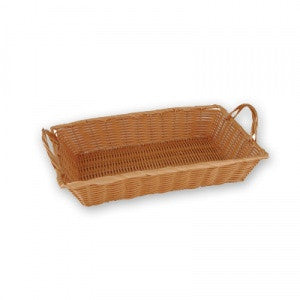 Bread Basket-450X300mm W/Hdlspolyprop.