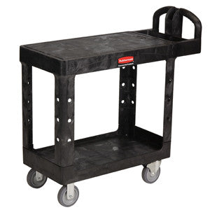 Rubbermaid 4505 Utility Cart Heavy Duty Flat Shelf - Small