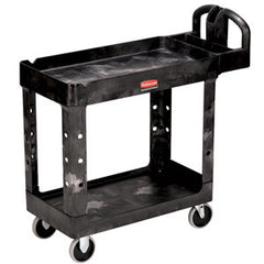 Rubbermaid 4520-88 2-Shelf Utility Cart Heavy-Duty - Large