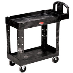 Rubbermaid 4520-88 2-Shelf Utility Cart Heavy Duty - Large Beige