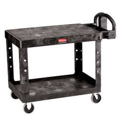 Rubbermaid 4520 Utility Cart Heavy Duty Flat Shelf - Large Beige
