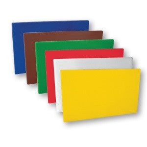 Cutting Board Set-Plastic 380 x 510 x 13mm - 6 Colours