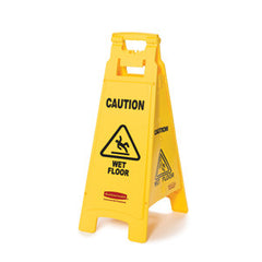 Rubbermaid 6112-77 Wet Floor Sign (66Cm Height)