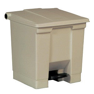 Rubbermaid 6143 Beig Step-On Container 30L