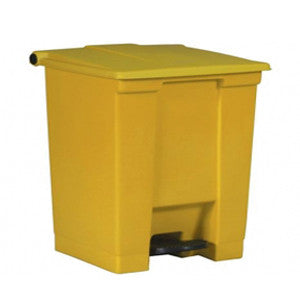Rubbermaid 6143 Yel Step-On Container 30L