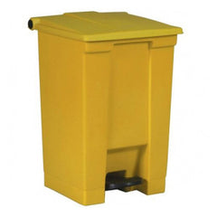 Rubbermaid 6144 Yel Step-On Container 45.4L