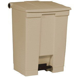 Rubbermaid 6145 Beig Step-On Container 68.1L