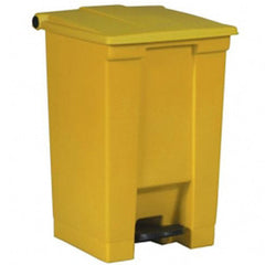 Rubbermaid 6145 Yel Step-On Container 68.1L