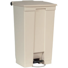 Rubbermaid 6146 Beig Step-On Container 87.1L
