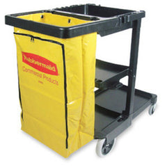Rubbermaid 6183 Vinyl Replacement Bag For Cleaning Cart 6173
