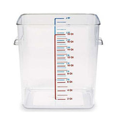 Rubbermaid 6318 Square Space Saving Containers 17Lts