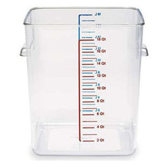Rubbermaid 6322 Square Space Saving Containers 20.8Lts