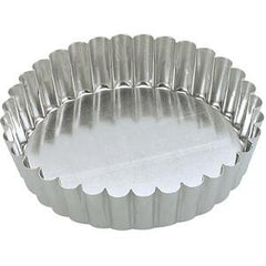 Cake Pan-Round Fluted 200X45mm Loose Base