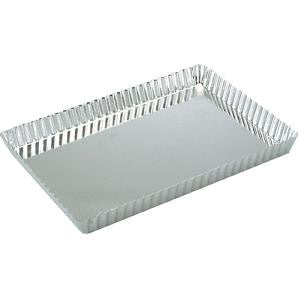 Quiche Pan-Rectangular Fluted  Loose Base