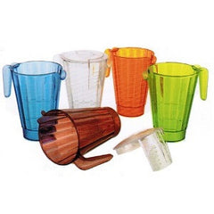 Matfer | Bourgeat Stackable Jugs 1Lt - Tangerine