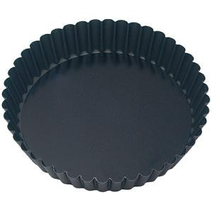Cake Pan-Round Fluted 200X45mm Loose Base Non-Stick