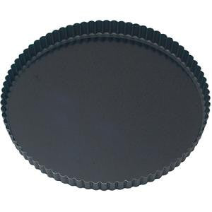 Quiche Pan-Round Fluted 280X25 Loose Base Non-Stick
