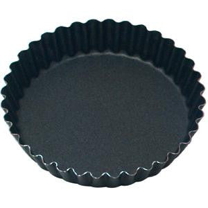 Tart Mould-36 Ribs Round Fluted 105X20mm Non-Stick