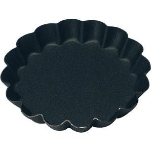 Tartlet Mould-Round 70X10mm Fluted Non-Stick