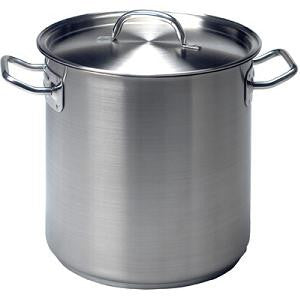 Stockpot-Stainless Steel 70Lt 450X450mm W/Lid