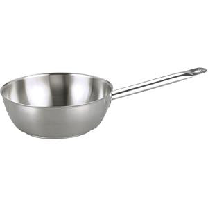 Saute Pan-Stainless Steel 2.9Lt 240X80mm Tapered