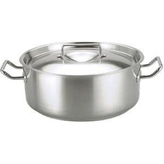 Casserole-Stainless Steel 12.0Lt 320X150mm W/Lid