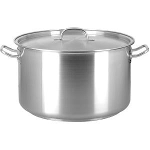 Saucepot-Stainless Steel 22.0Lt 360X220mm W/Lid
