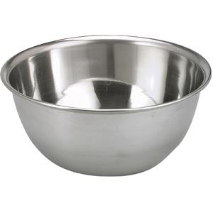 Mixing Bowl-Deep Stainless Steel 300X130mm 7.5Lt