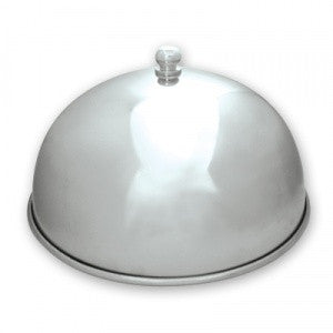 Dome Cover-Stainless Steel Wt Knob