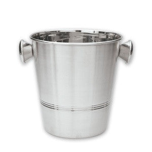 Wine Bucket-Stainless SteelWt Knobs
