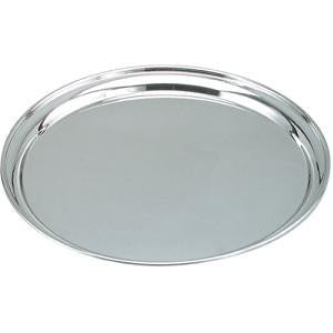 Tray-Round Stainless Steel 400mm