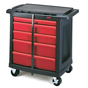 Rubbermaid 7734-88 Drawer Mobile Work Centre