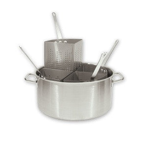 Pasta Cooker Set-5PcW. Stainless Steel Pot