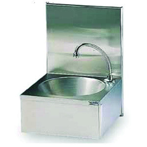Matfer | Bourgeat Wash Hand Basin W/Splash Back