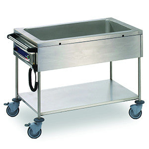 Matfer | Bourgeat Bain Marie Mobile 1 Bay 3X1/1